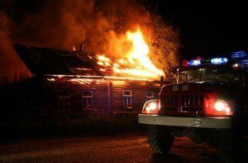 На Старой Гальянке ночью был пожар