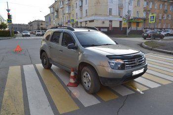В центре Нижнего Тагила на пешеходном переходе сбили пенсионера