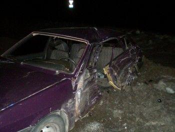 На выезде из Николо-Павловского «девятка» попала под колеса ГАЗели