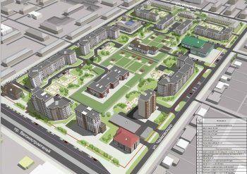 Вместо 11 бараков – 8 новых домов и гостиница