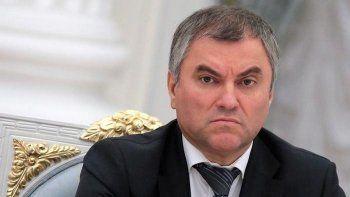 Володин ответил главе парламентской ассамблеи ОБСЕ на вопрос о всероссийской акции