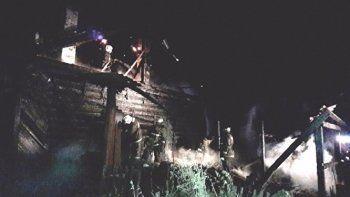 В Серове во время пожара погибли два ребёнка и трое взрослых