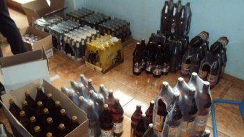 В Нижнем Тагиле полиция изъяла из незаконного оборота почти тысячу литров алкоголя