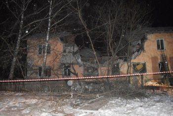 В Иваново в результате взрыва газа обрушился дом. Погибли шесть человек
