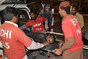 Более 50 человек погибли при нападении террористов на полицейскую академию в Пакистане
