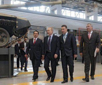 Путин наградил УВЗ грамотой Верховного Главнокомандующего
