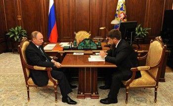 Путин провёл ночную встречу с Кадыровым