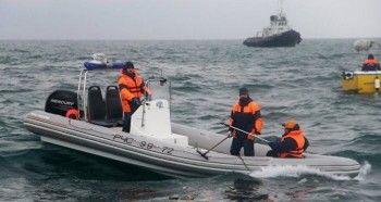 Спасатели закончили основные поисковые работы на месте крушения Ту-154