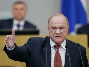 Зюганов назвал очевидным вопрос об отставке Амана Тулеева
