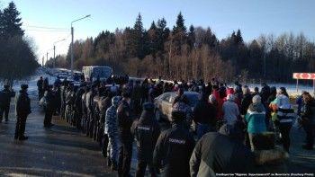 Жители Волоколамска отрицают, что им выдают средства защиты от свалочных газов