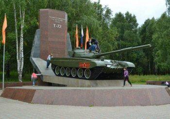 В Нижнем Тагиле неизвестные подожгли танк-памятник УВЗ