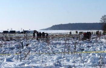 МЧС начало повторные поиски погибших наместе крушения Ан-148 вПодмосковье после информации об обнаружении частей тел