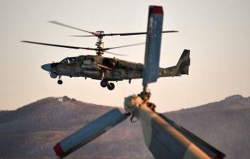 В Сирии разбился российский вертолёт