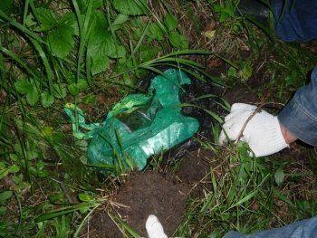 Под Нижним Тагилом наркополицейские нашли тайник с 3 килограммами «синтетики» (ФОТО)