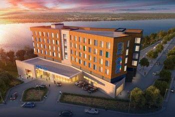 В Нижнем Тагиле обрушилось перекрытие строящегося отеля  Park Inn by Radisson