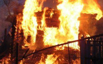 В частном доме под Нижним Тагилом сгорел мужчина