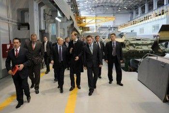 В Нижнем Тагиле Владимиру Путину покажут производство танка «Армата»