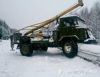 На Серовском тракте столкнулись 13 автомобилей (ВИДЕО)