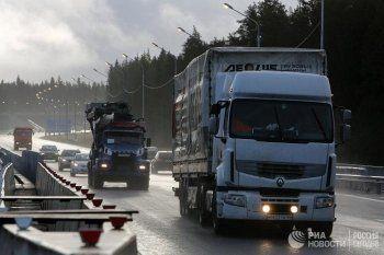 В России могут ограничить движение грузовиков ночью и в выходные