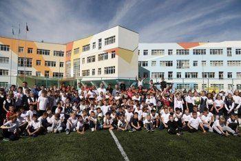В Екатеринбурге прошёл футбольный матч, который может войти в Книгу рекордов России