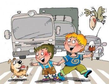Российские школьники будут сдавать ПДД для пешеходов
