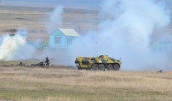 Российская полиция учится разгонять майдан