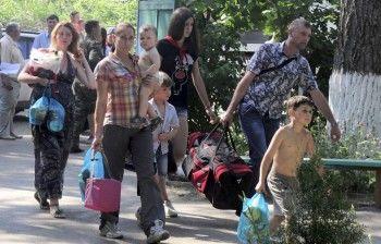 Вместо Урала беженцев отправили на Северный Кавказ