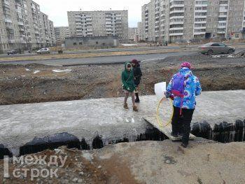 Пешеходные зоны на Уральском проспекте сделают до конца года