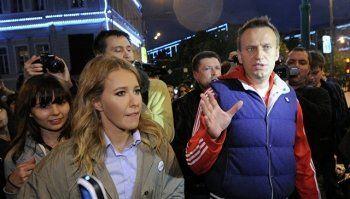 Навальный прокомментировал выдвижение в президенты Ксении Собчак (ВИДЕО)