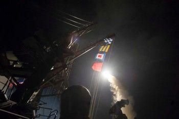 США выпустили 60 ракет по сирийской военной базе