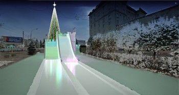 Стало известно, как будет выглядеть ледовый городок в центре Нижнего Тагила