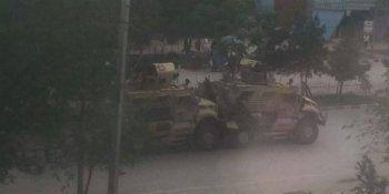 В Кабуле смертник атаковал колонну НАТО (ВИДЕО)