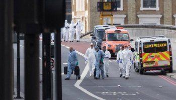 Полиция назвала имена двоих исполнителей теракта в Лондоне