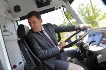 Евгений Куйвашев договорился о поставке в Свердловскую область белорусских электробусов