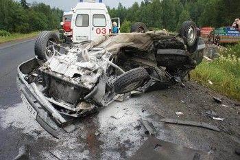 В Нижнем Тагиле в результате ДТП погиб человек