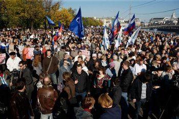 Оппозиция собирается провести 40-тысячный митинг в Москве
