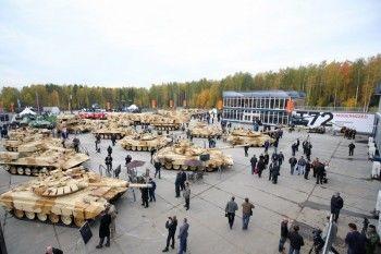 «Уралвагонзавод» продолжает готовиться к Russia Arms Expo-2015
