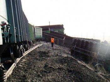 В Свердловской области сошёл с рельс поезд «Владивосток-Москва»
