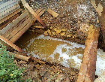Река Тагил может «заразить» городские водохранилища. Брошенный рудник под Кировградом грозит экологической катастрофой Нижнему Тагилу