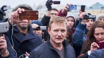 Полиция отказалась обвинять SERB в нападении на Навального