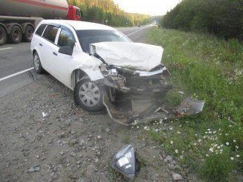 Под Нижним Тагилом разбились Opel и Mitsubishi