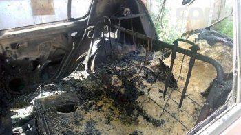 В Екатеринбурге мужчина сгорел в автомобиле