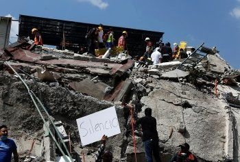 Число жертв землетрясения в Мексике возросло до 248 человек