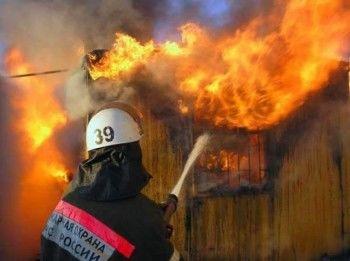 В пожаре в центре города погиб мужчина