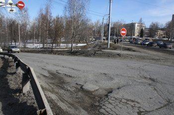 Тагильские дороги, отремонтированные по гарантии, опять надо переделывать