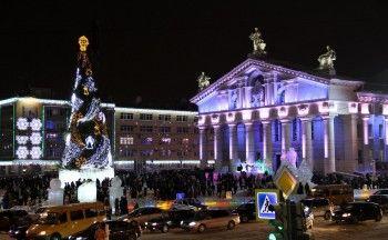 Главная ёлка города поменяет дислокацию в новогодние праздники
