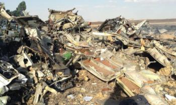 На месте крушения А321 обнаружены не относящиеся к самолёту детали