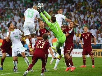 Этот чемпионат мира по футболу любит храбрых
