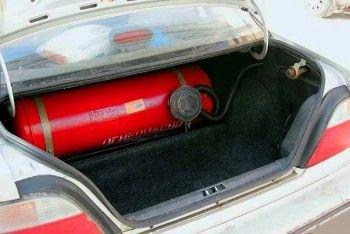 Автомобили на газе хотят освободить от налога