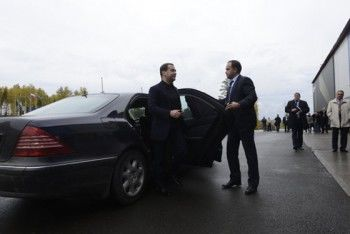 Полигон «Старатель» - не единственный пункт визита Медведева в Тагиле